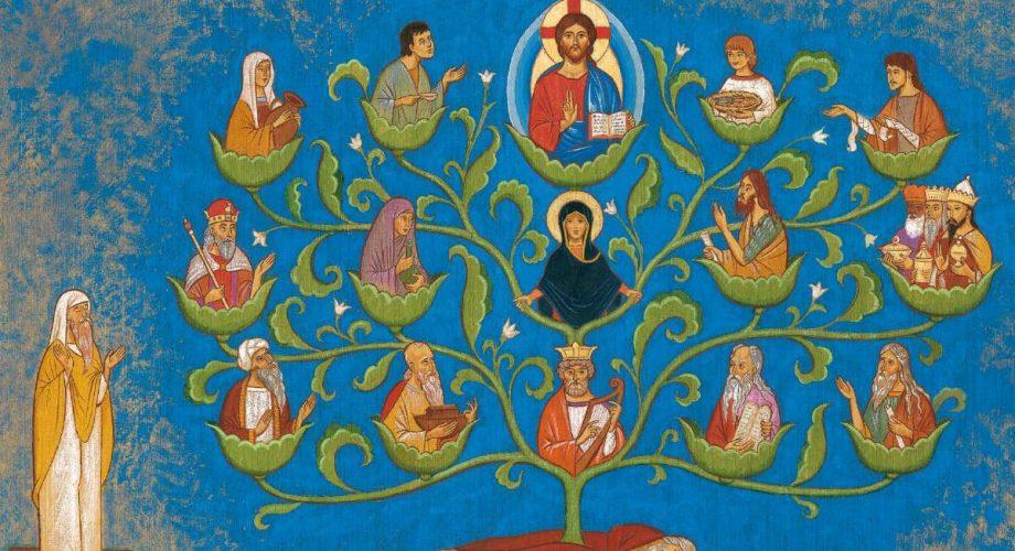 Jésus, engendré en Marie, épouse de Joseph, fils de David  dans Enseignement arbre-de-jesse-920x500